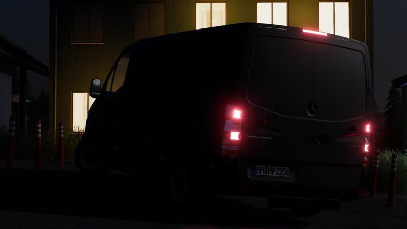 FS19 - Mercedes-Benz Sprinter 2014 V0.5