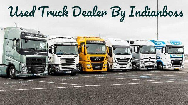 ETS2 - Used Truck Dealer and Used Trucks in Quickjob V1.1 (1.37.x)
