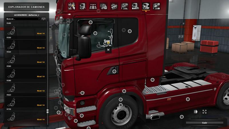 ETS2 - Low Deck improved Chassis for RJLs Scania R&S, R4, P4, P&G V1.5 (1.39.x)