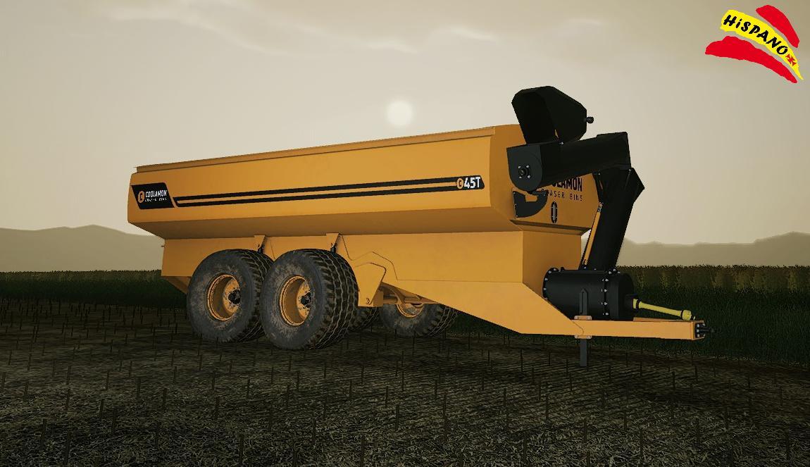 FS19 - Coolamon Chaser Bins 45T Trailer V1.0