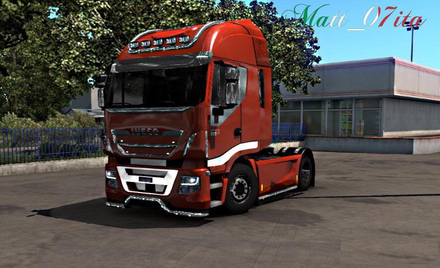 ETS2 - Iveco Hi-Way Chrome Fix Mod (1.39.x)