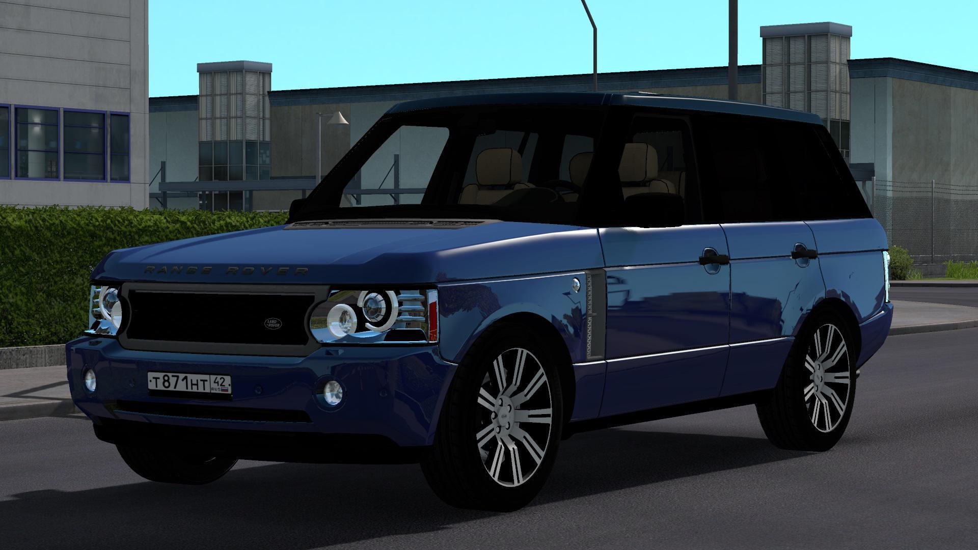 ETS2 - Range Rover Supercharged 2008 V5.0 (1.38.x)