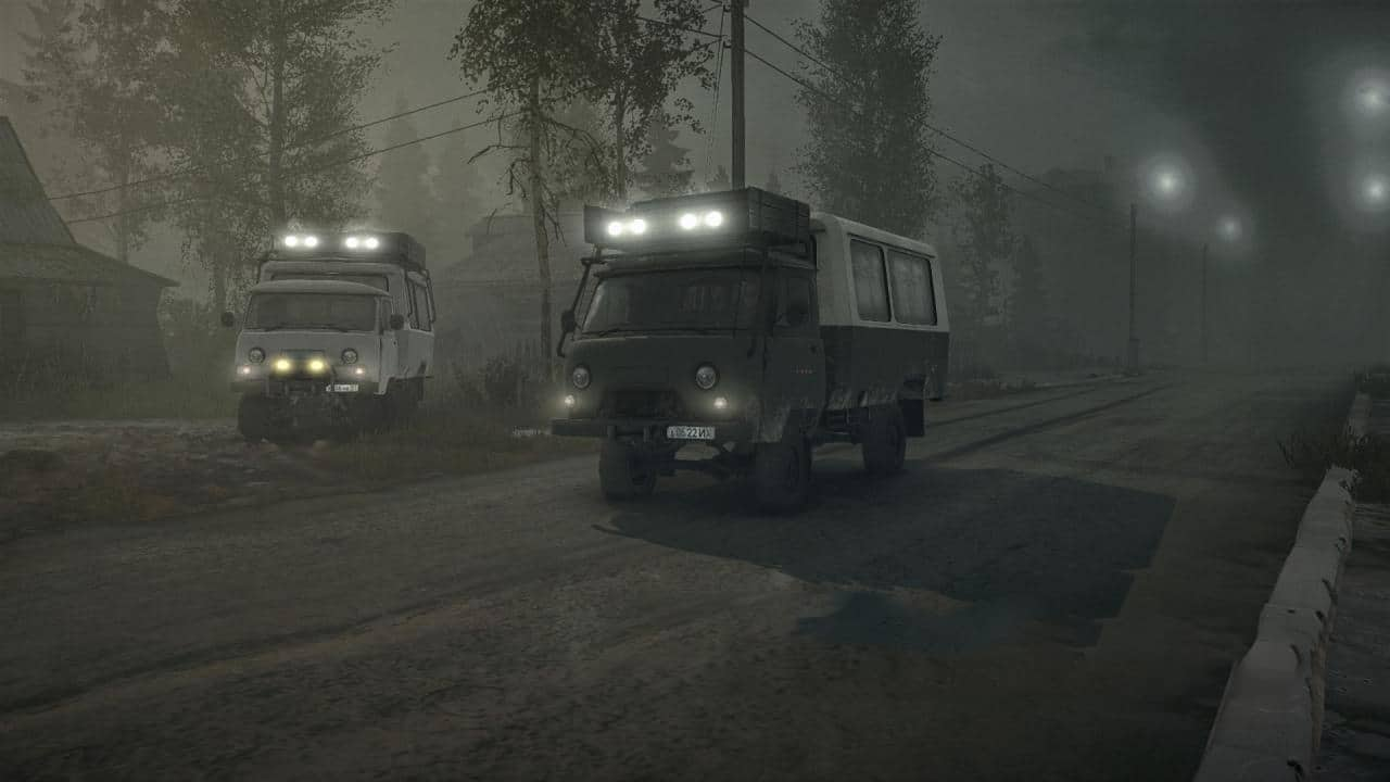 Spintires:Mudrunner - Uaz 452D and Uaz 3303 V2.0