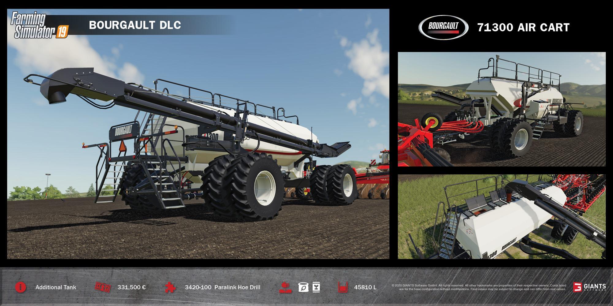 FS19 - Bourgault DLC (Download Only) V1.0