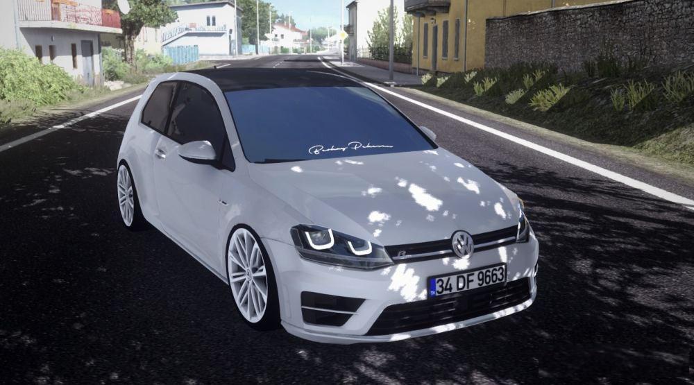 ETS2 - Volkswagen Golf 7 R Line Car Mod (1.35.x)