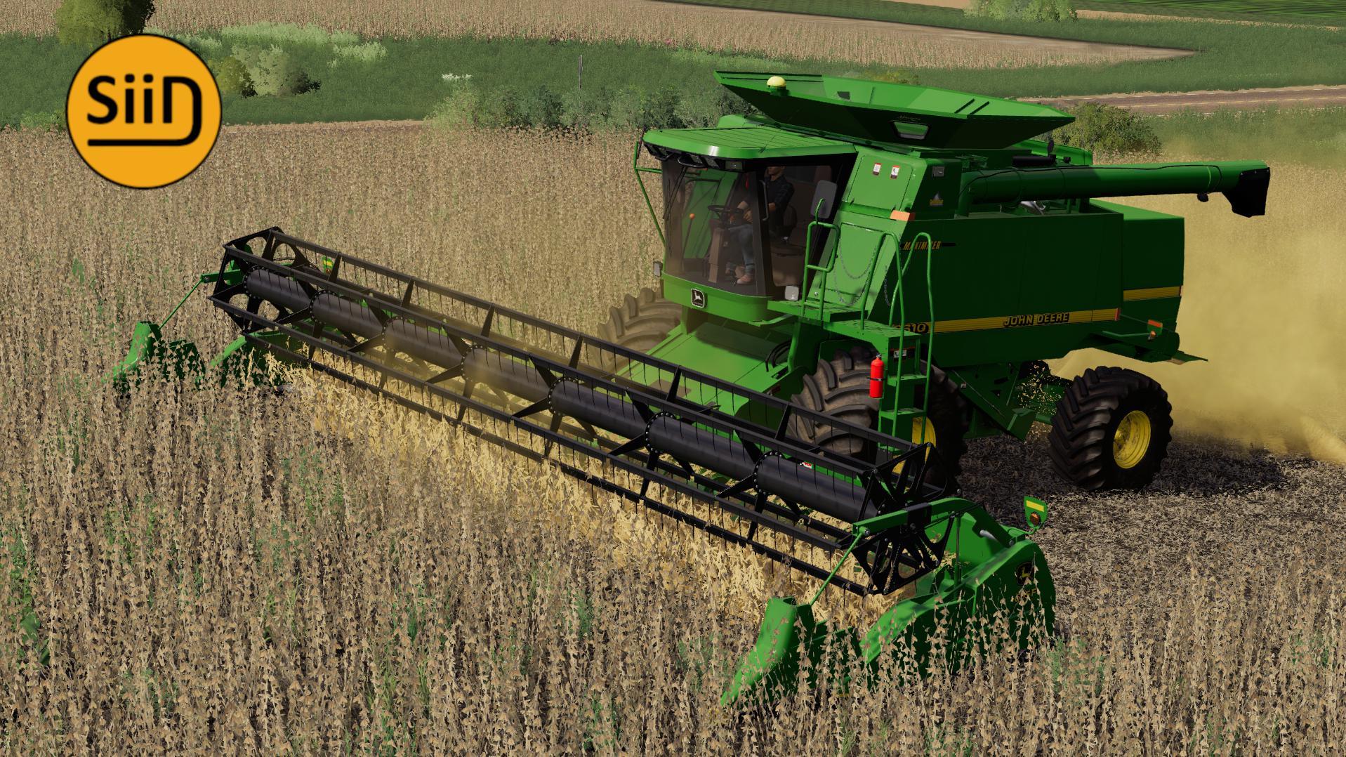 fs19  john deere 9650 harvester v1  farming simulator 19