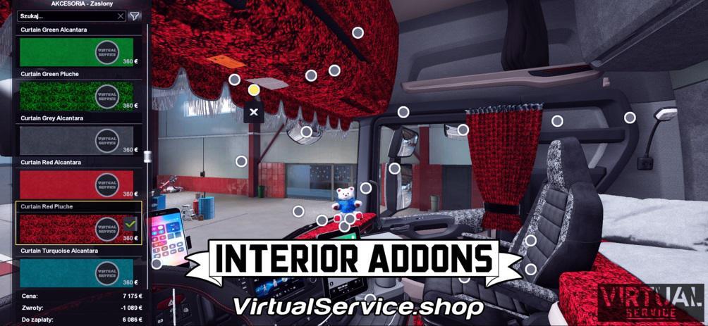 ETS2 - Interior Addons Scania NextGen Eugene Only (1.39.x)