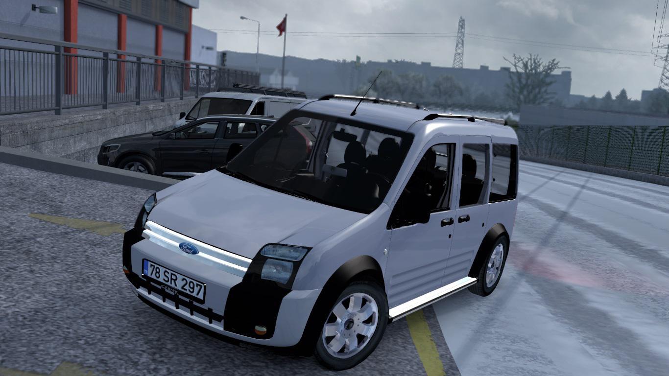 ETS2 - Ford Transit Connect V1R40 (1.38.x)