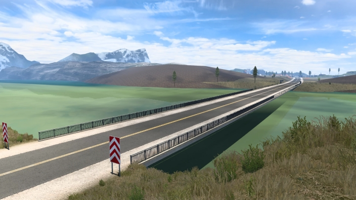 ETS2 - New South America Big Map Mod (Mapa EAA 6.1) 1.40.x