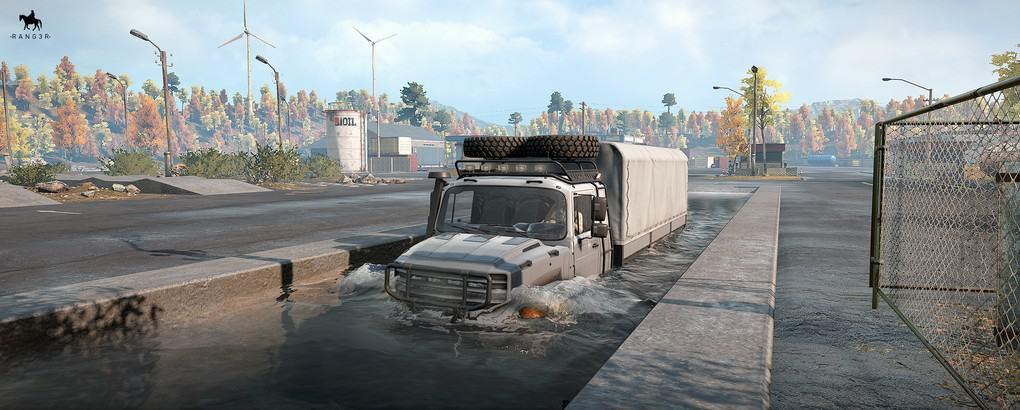 SnowRunner - RNG Zentos Truck V1.0