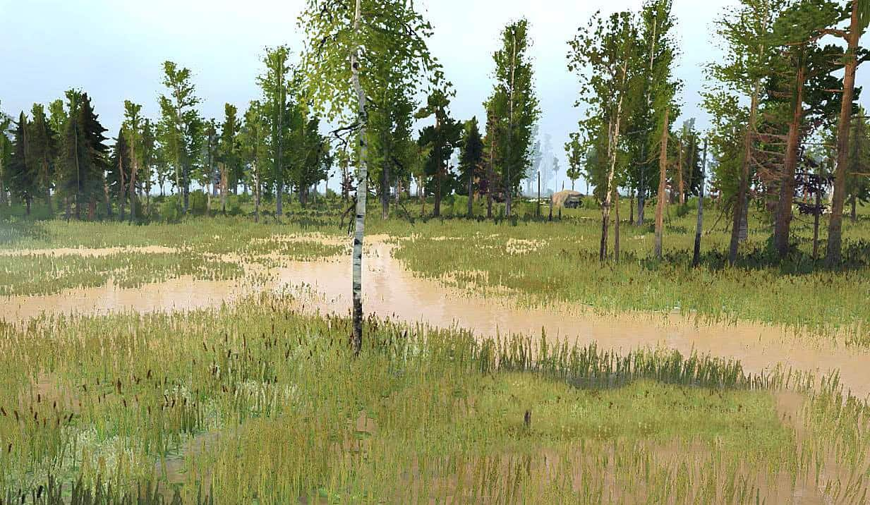 Spintires:Mudrunner - Swamp Master Map V1.1