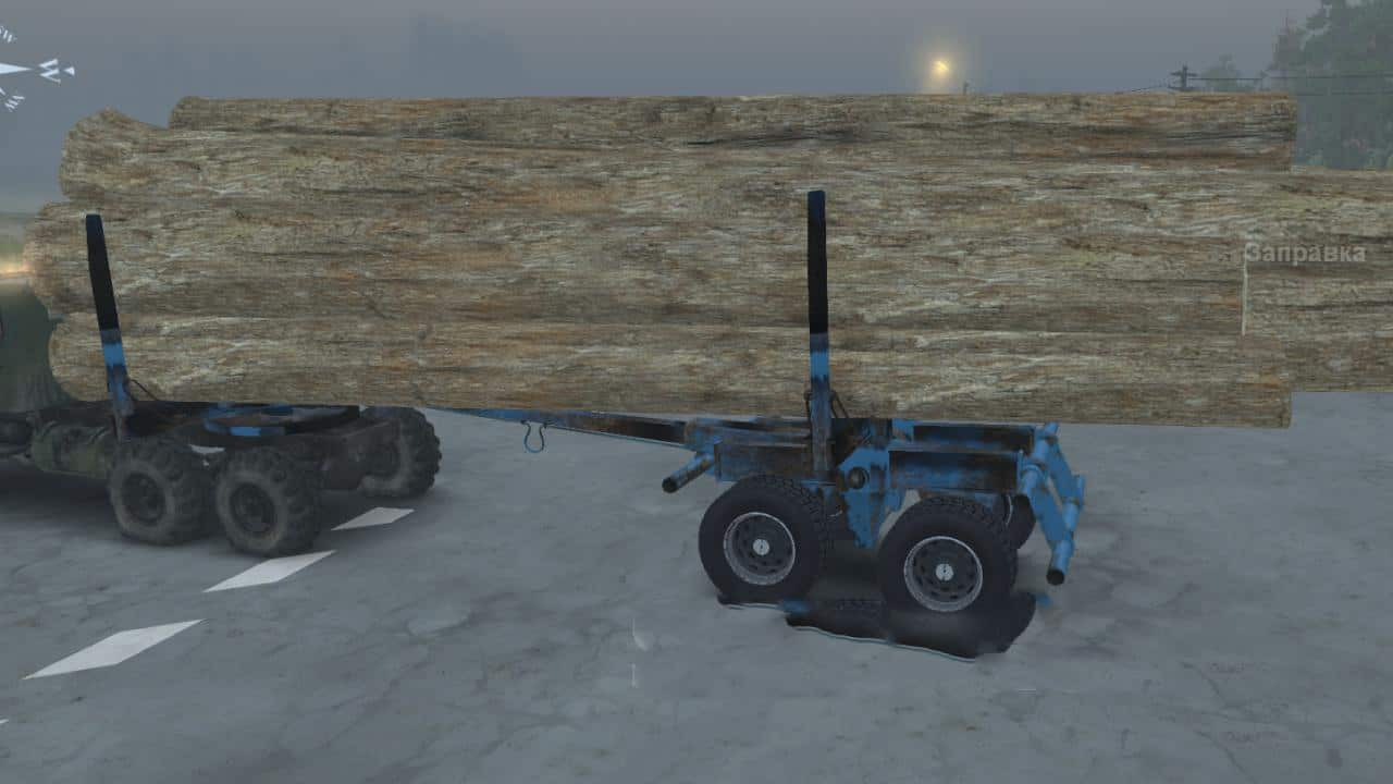 Spintires - Series: Logging Trucks V1