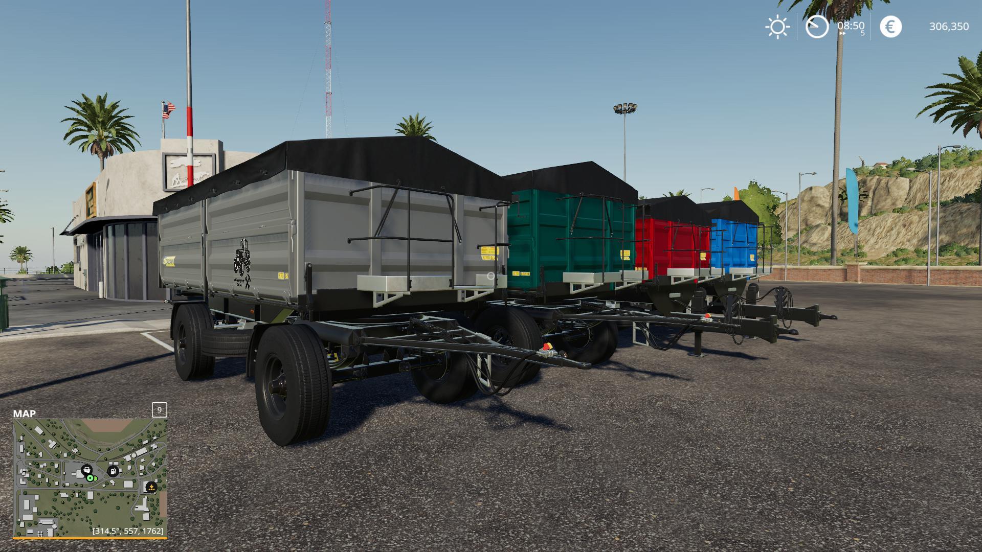 FS19 - MBS Kipper Pack V2.5