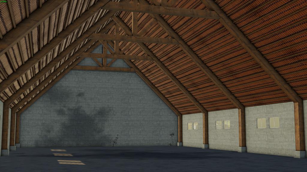 FS19 - Old Styled Farmhouse With Barn V1.0