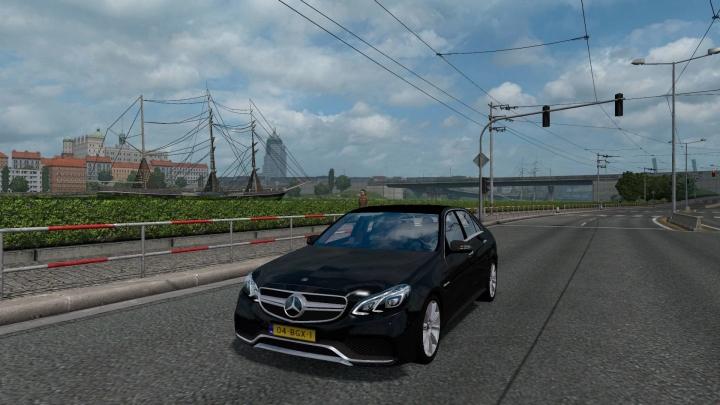 ETS2 - Mercedes E63 Reworked (1.40 - 1.41)