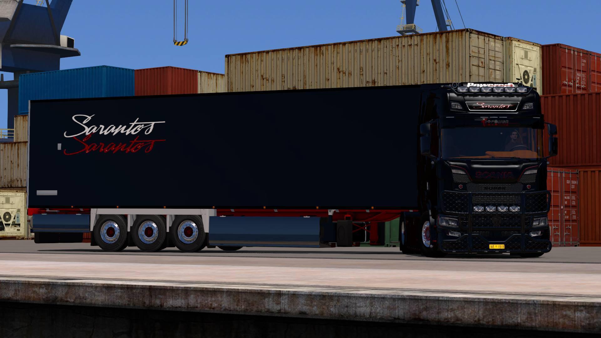 ETS2 - Combo Scania S Sarantos (1.36.x)