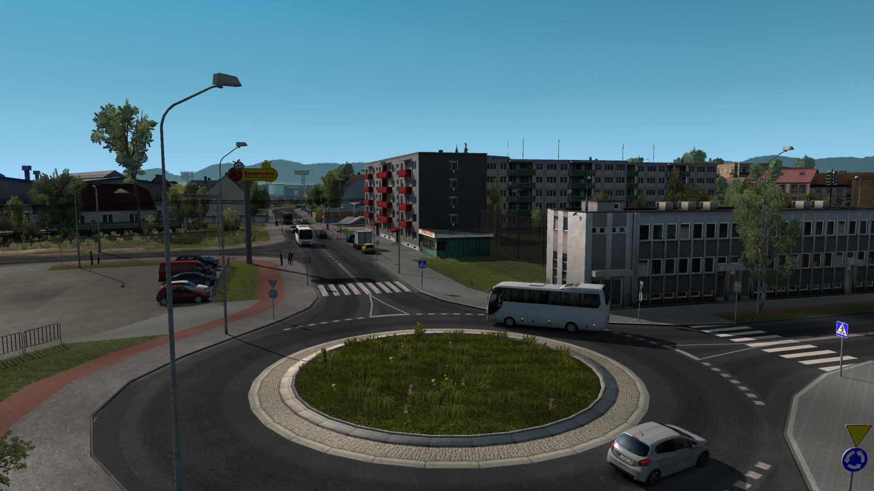ETS2 - Poland Rebuilding Reworked V2.4 (1.35.x)