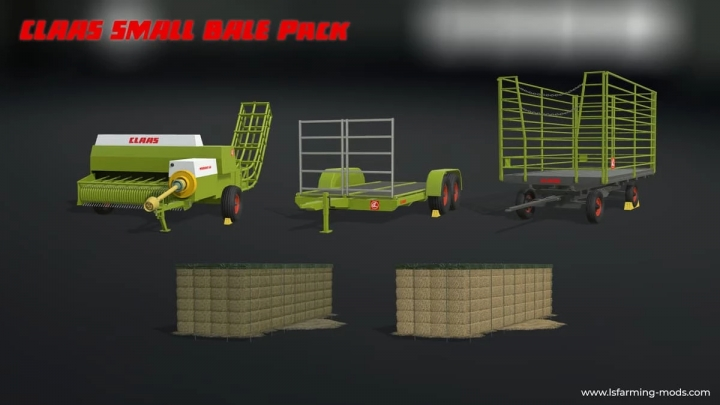 FS19 - Claas Small Bale Pack V1.0