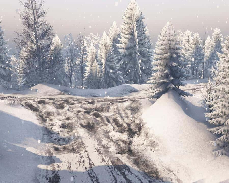 Spintires - Winter Taiga Map V1.0