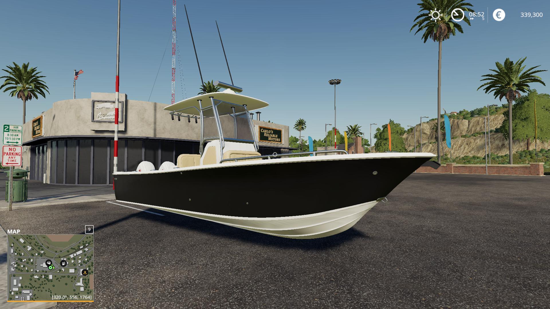 FS19 - Everglade Boat V1.0.6.9