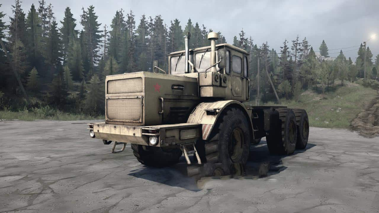 Spintires:Mudrunner - Kirovets 6x6 Version Beta Test