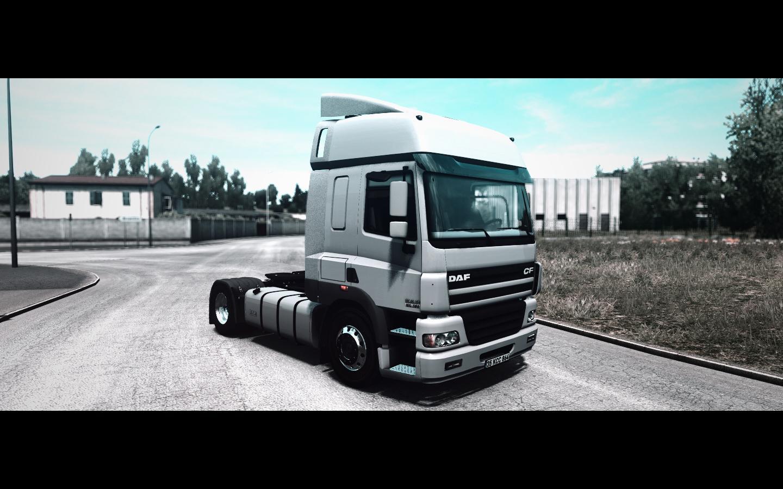 ETS2 - Daf CF 85 Truck V2 (1.36.X)