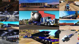 ATS - Overweight 9 Axle Dolly Trailer 200 Tons+ (1.36.x)