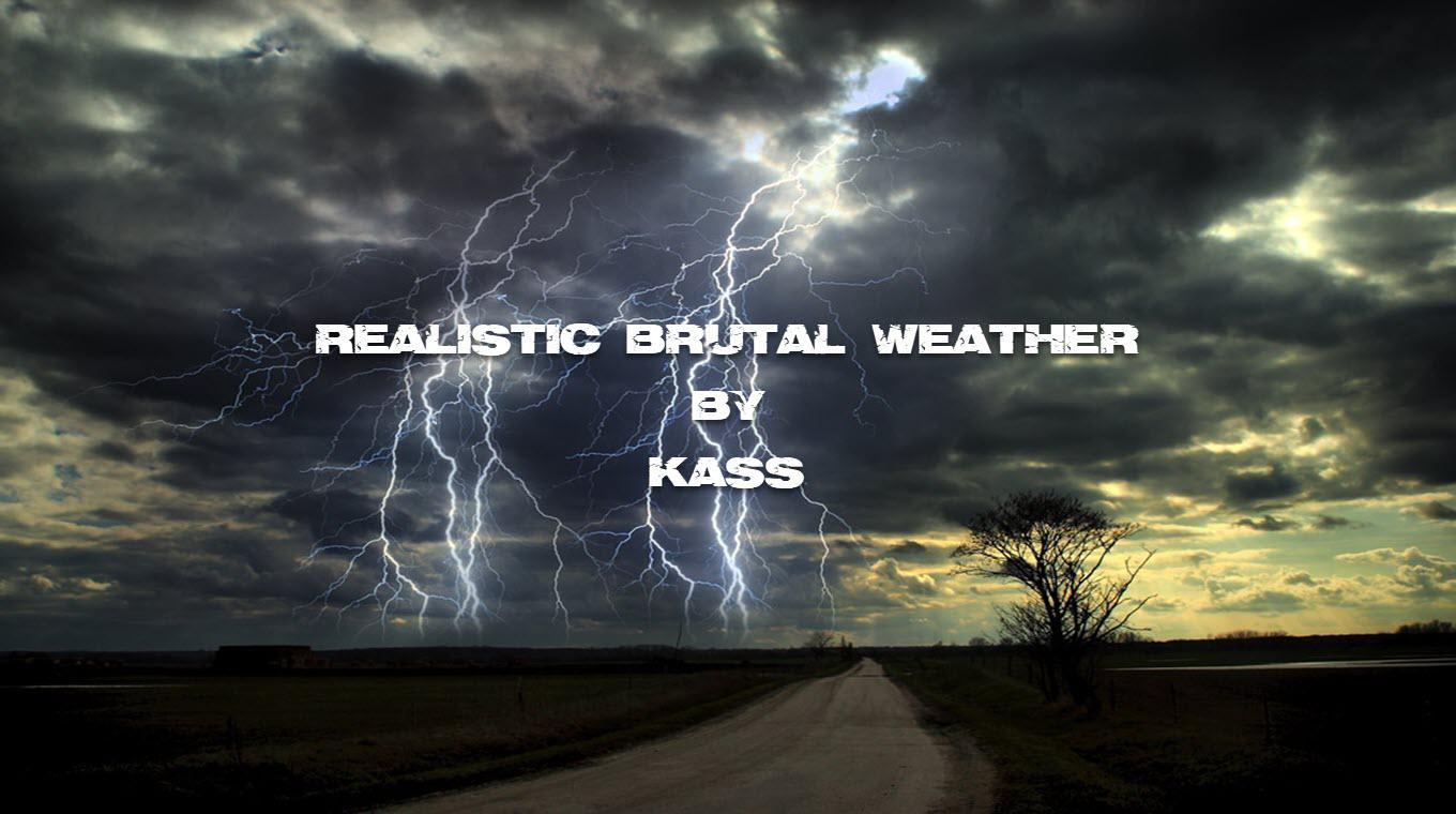 ATS - Realistic Brutal Weather V3.0 (1.39.x)