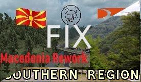 ETS2 - Souther Region Compatibility fix for Macedonia Map v1.0 (1.35.X)