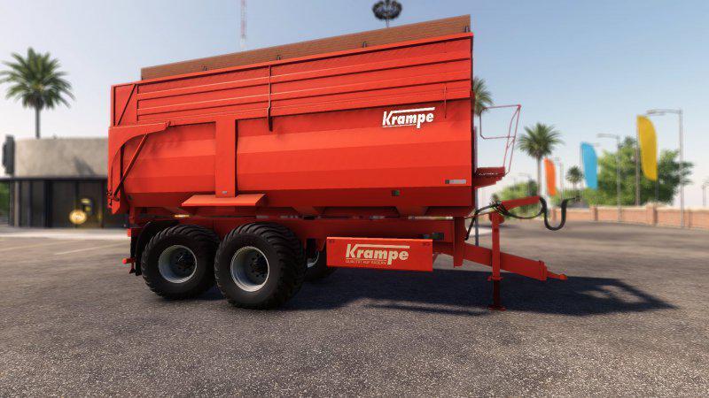 FS19 - Krampe BBS650 Trailer V1