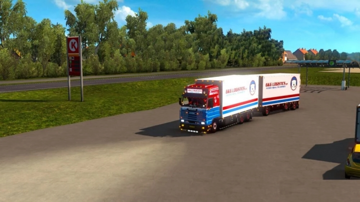 ETS2 - GG Logistics Roth 134M (1.40.x)