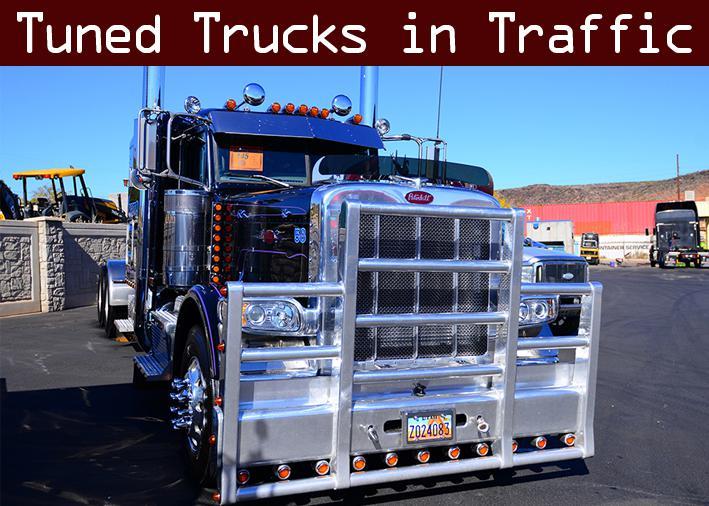 ATS - Tuned Truck Traffic Pack V1.0 (1.35.X)