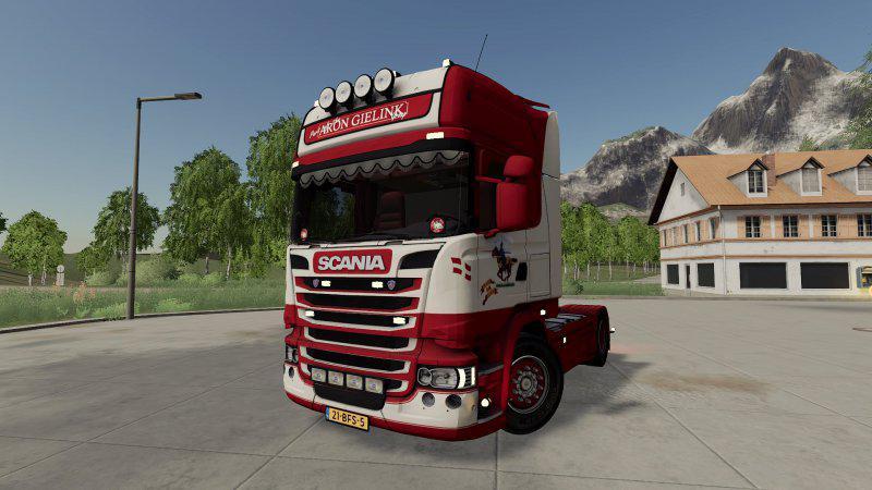 FS19 - Scania R-Series Topline 4x2 Aron Gielink V1.0
