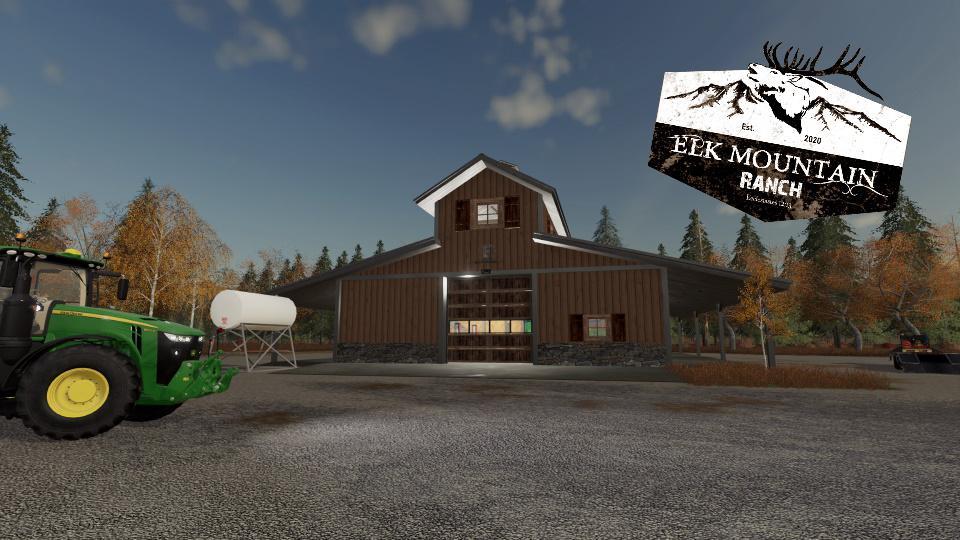 FS19 - Elk Mountain Ranch Workshop V1.0