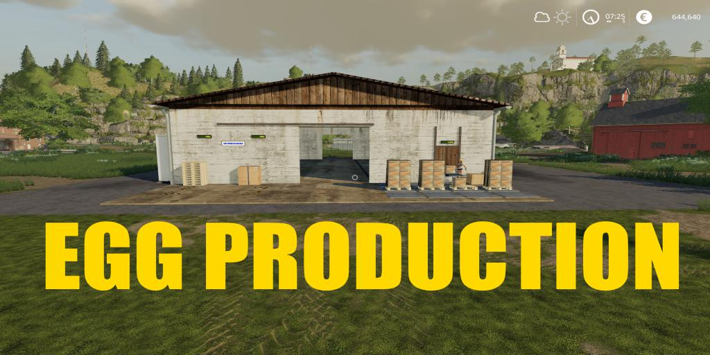 FS19 - Placeable Egg Production V1.0