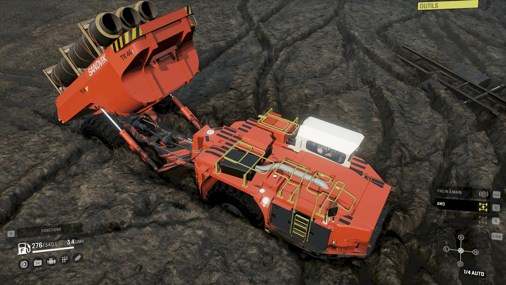 SnowRunner - Sandvik TH545i Truck V1.0
