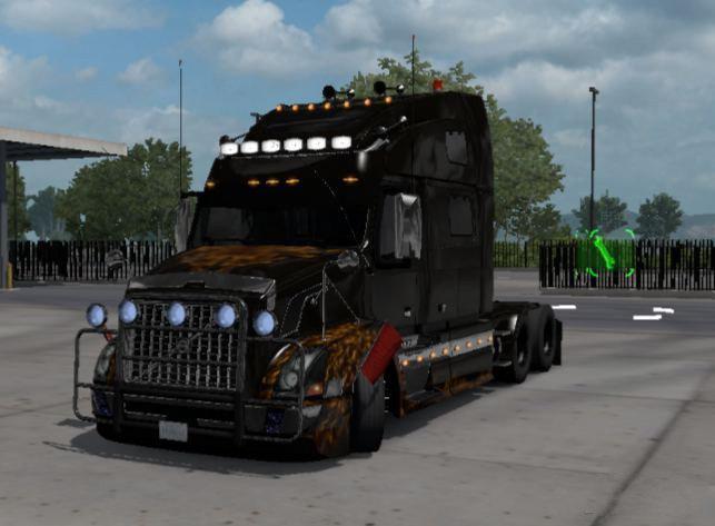 ETS2 - Volvo VNL Custom Truck (1.38.x)