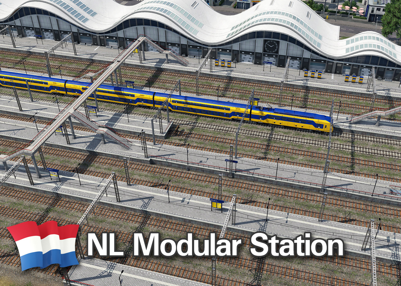 Transport Fever 2 - NL Modular Station