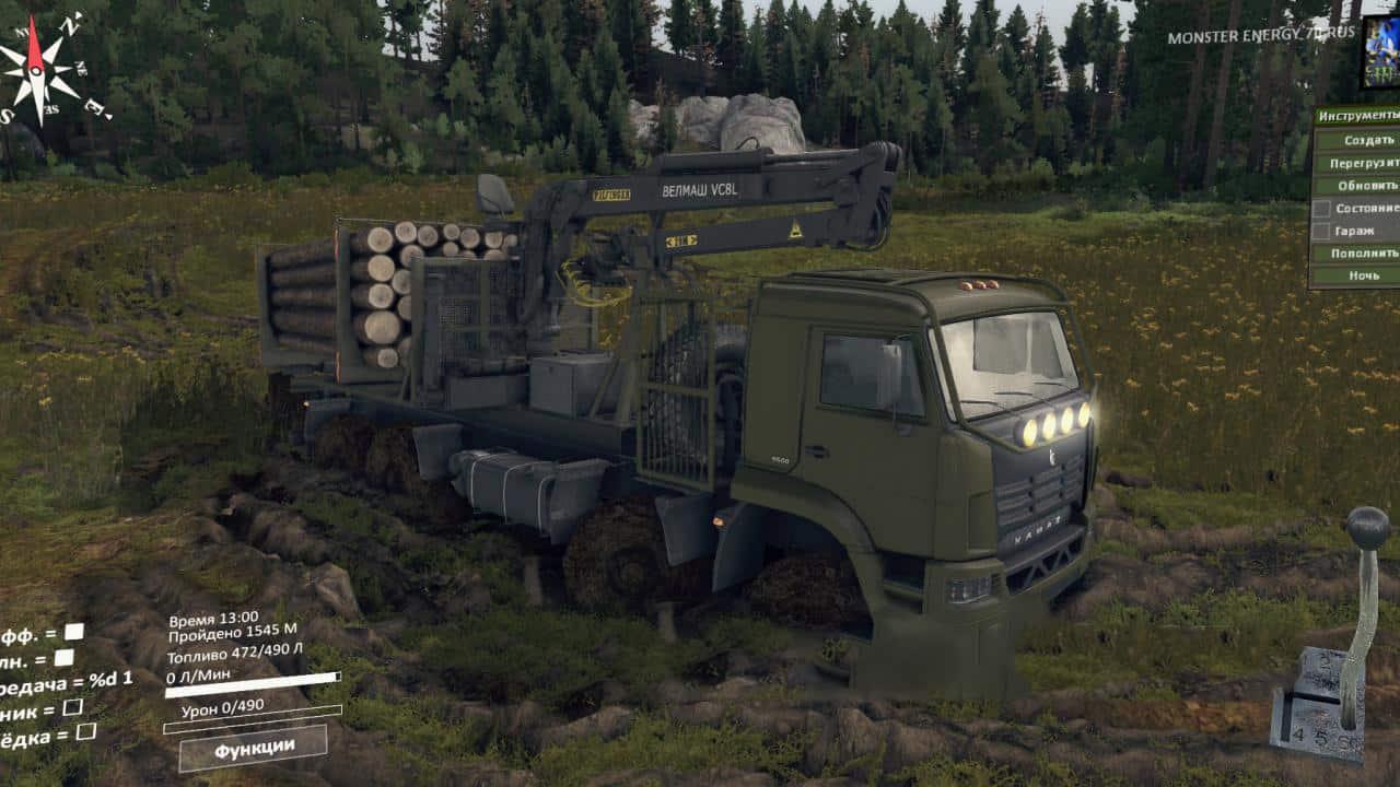 Spintires - Kamaz 6560 Truck V1.1