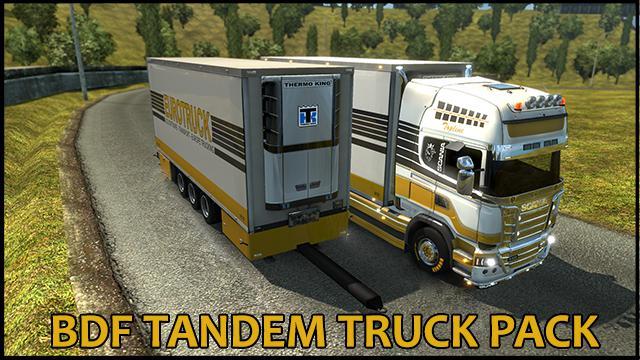ETS2 - BDF Tandem Truck Pack V137.0 (1.37.x)