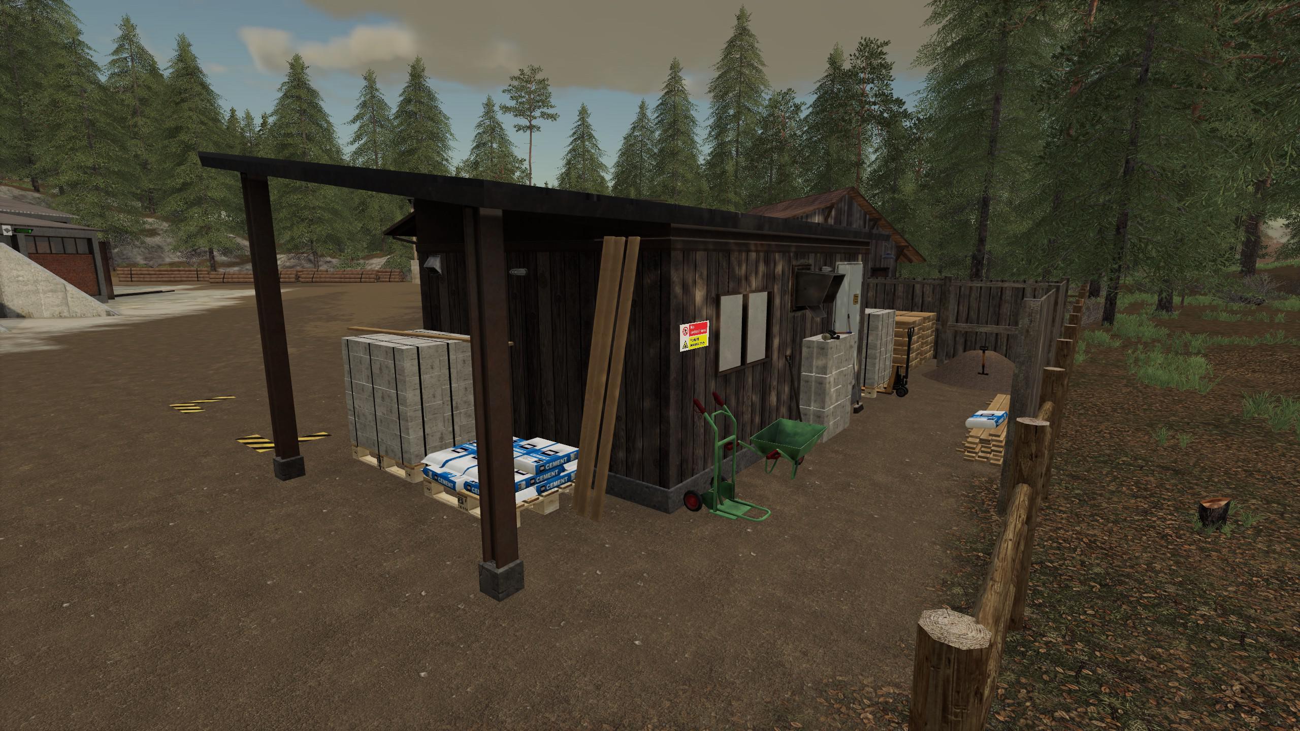 FS19 - Builders Yard V1.2