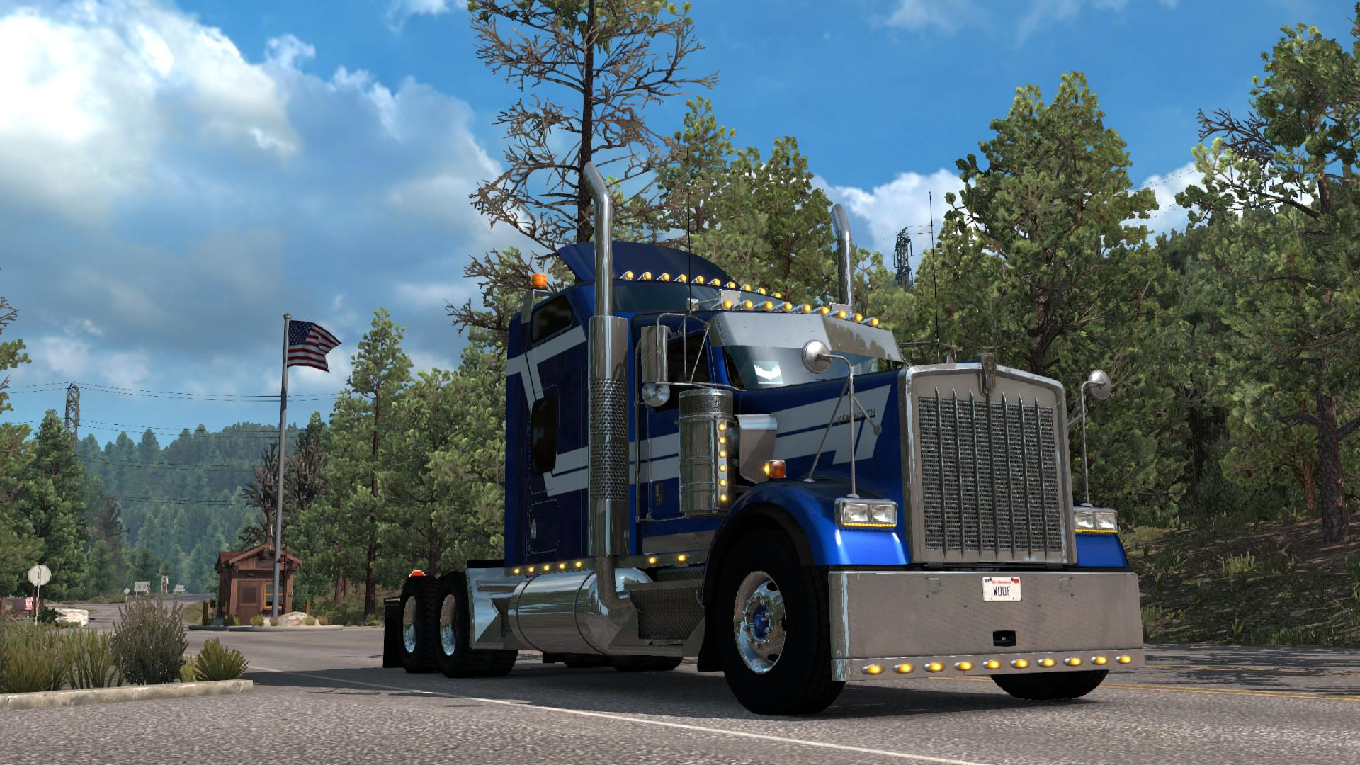 ATS - Kenworth W900B Truck V1.2.39 (1.39.x)