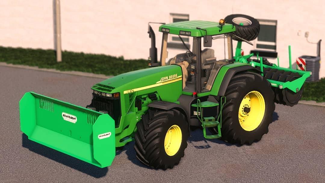 FS19 - John Deere 8x00/8x10 Tractor V2.0