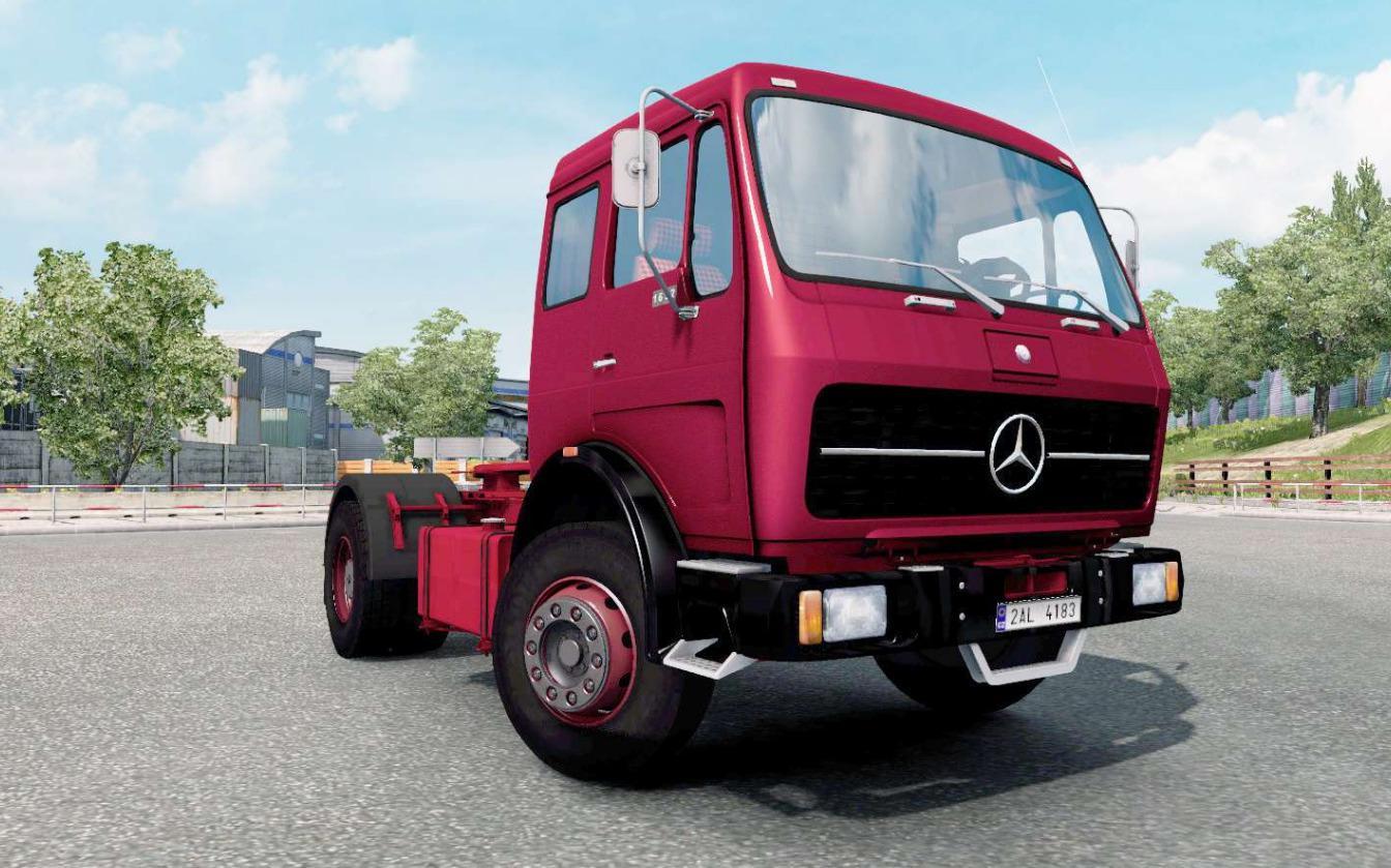 ETS2 - Mercedes-Benz NG 1632 Truck V1.0 (1.36.x)
