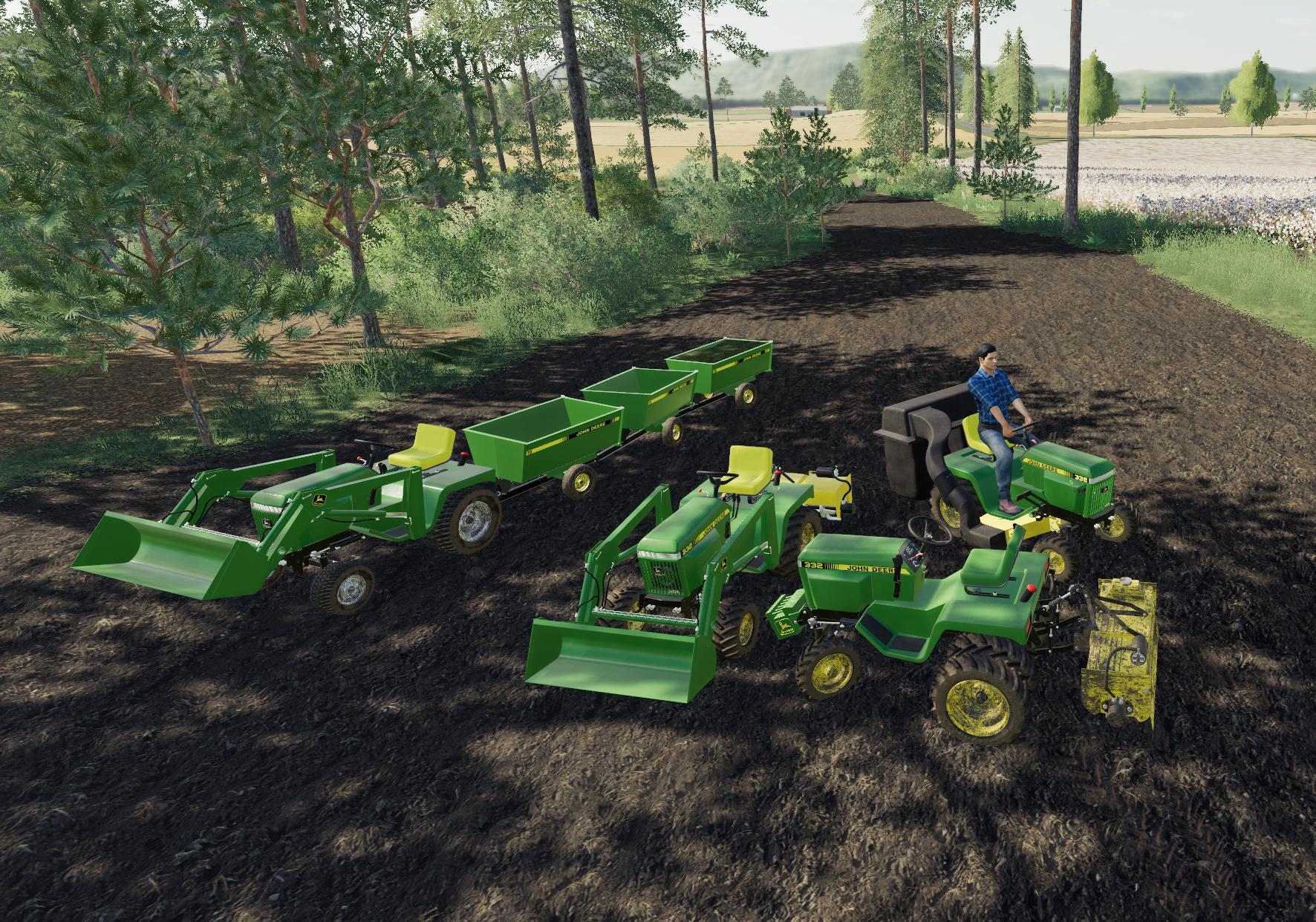 FS19 - John Deere 332 Tractor V1.0