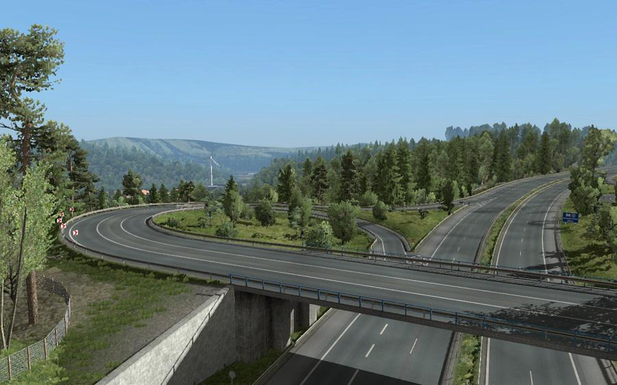ETS2 - Clear Sky Nohdr Weather Mod (1.35.X)