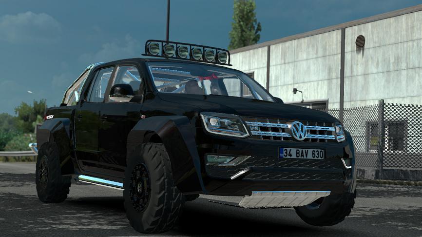 ETS2 - Volkswagen Amarok V1R12 (1.35.x)