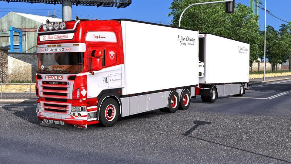 ETS2 - Scania R500 Tandem + Trailer (1.39.x)