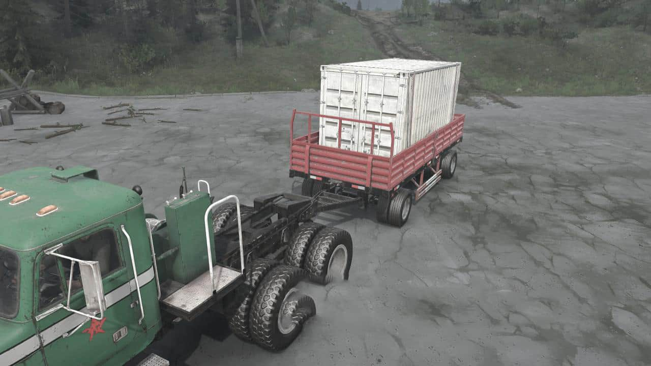 Spintires:Mudrunner - Trailers from SnowRunner Pack V09.08.20