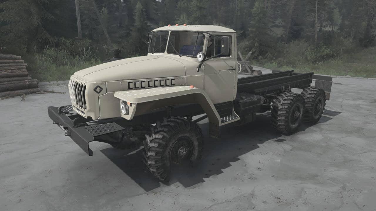 Spintires:Mudrunner - Ural-4320 Truck V25.06.20